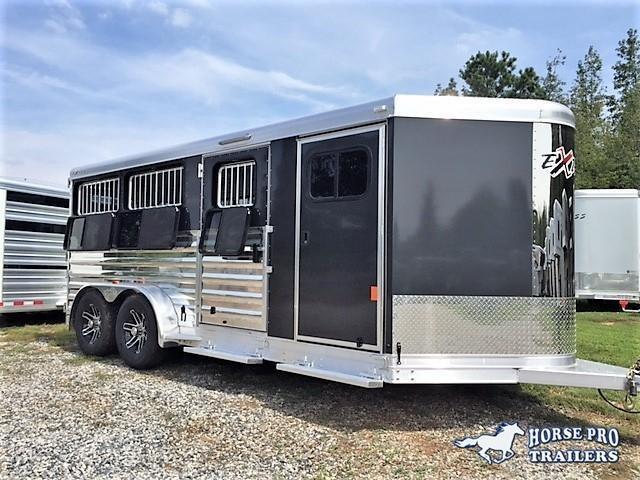 2019 Exiss Exhibitor 16' Low Profile Pig/Stock Bumper Pull w/Windows in Ashburn, VA