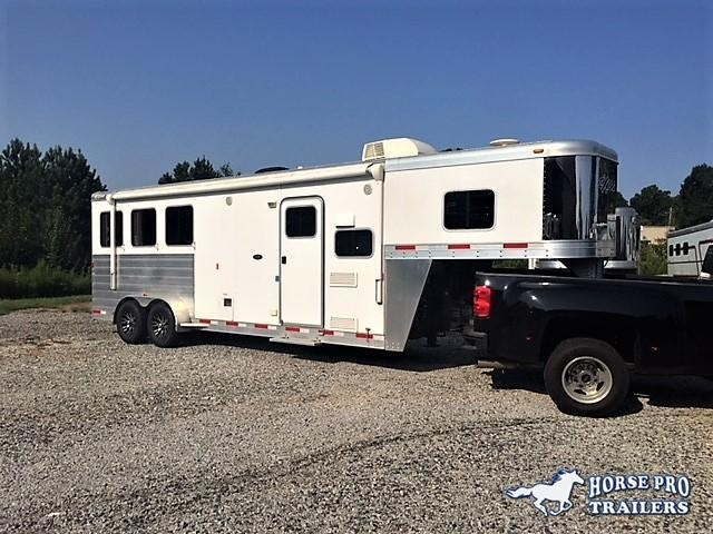 2015 Exiss 3 Horse 8' Sierra Living Quarters