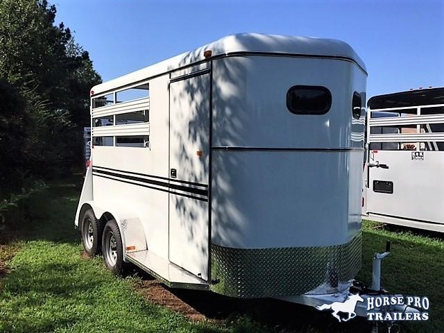 2019 Bee 2 Horse Slant Load Bumper Pull- Stock sides in Habersham, GA