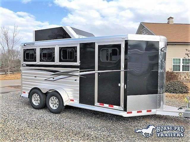 2019 Cimarron 3 Horse Slant Load Bumper Pull w/Rear Tack & Hayrack in Ashburn, VA