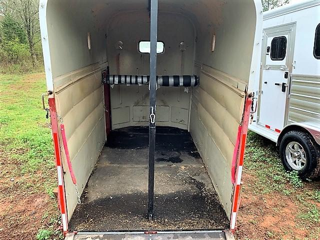 1984 Rice 2 Horse Straight Load Bumper Pull