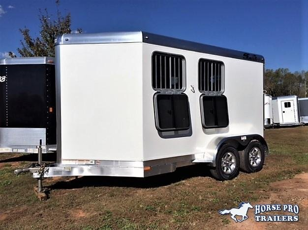 2019 4-Star 2 Horse Slant Load Bumper Pull w/INSULATION & FANS!