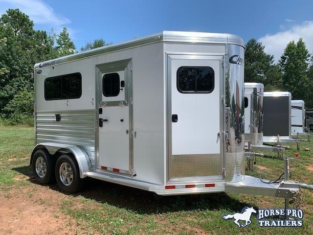 2020 Cimarron Norstar 2 Horse Straight Load Bumper Pull w/WERM FLOORING! in Ashburn, VA