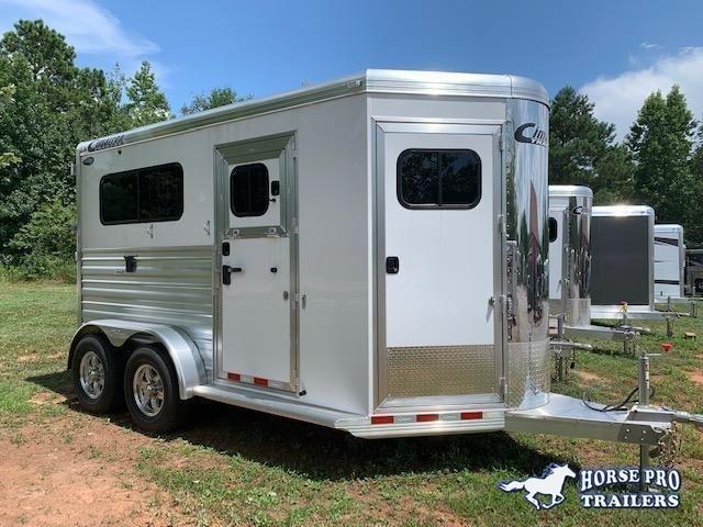 2020 Cimarron Norstar 2 Horse Straight Load Bumper Pull w/WERM FLOORING!