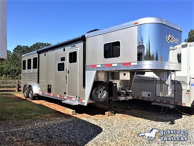 2019 Exiss Escape 3 Horse 10'6 Living Quarters in Murrayville, GA