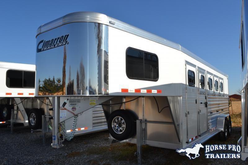2019 Cimarron Norstar 4 Horse Slant Load Gooseneck w/Rear Tack