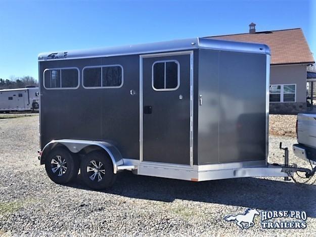 2020 4-Star 2 Horse Slant Load Bumper Pull w/Rear Tack in Ashburn, VA