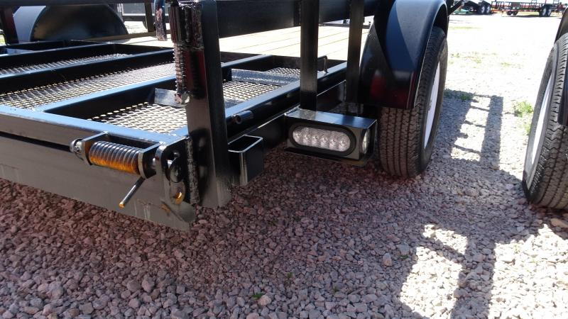2019 Other 16x76 Tandem Axle Utility Trailer With Removabl Car / Racing Trailer