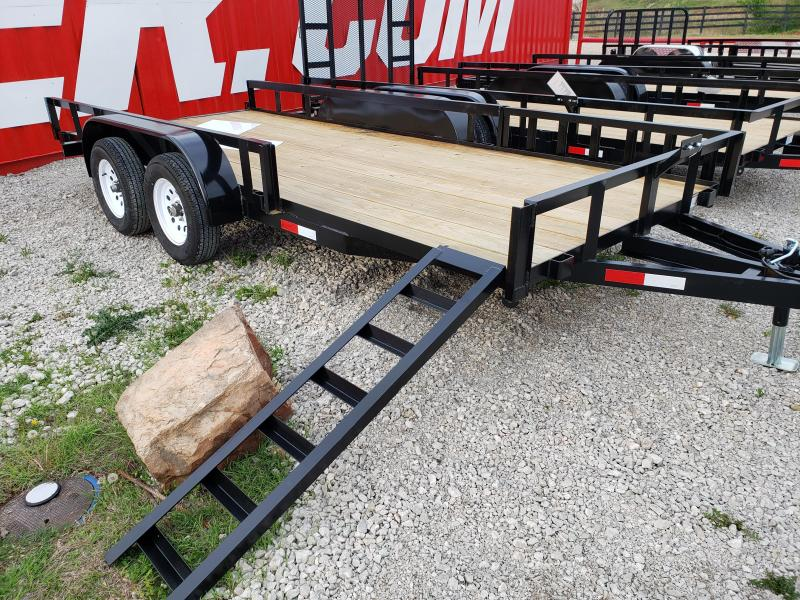 2019 Other 16x76 Tandem Axle Utility Trailer With Removabl Car / Racing Trailer in Ashburn, VA