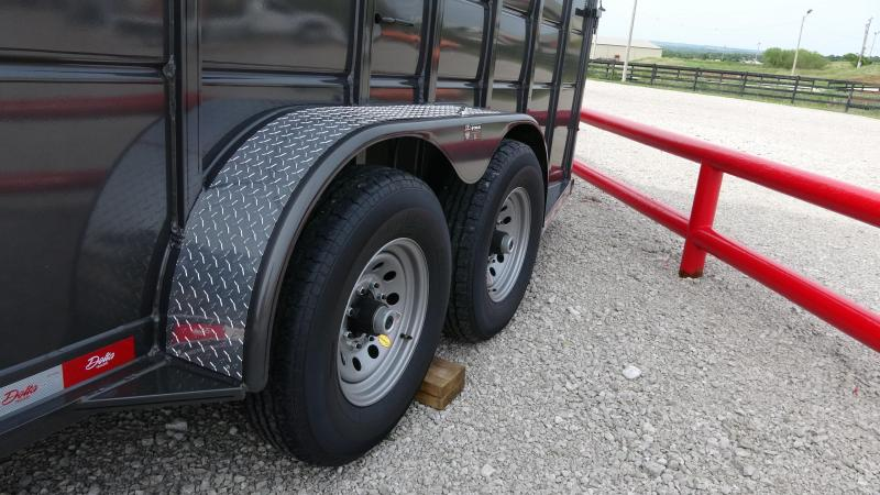 2019 Delta 24 Delta Heavy Livestock Trailer Metal Topped With Tandem 7k Axles (CL)