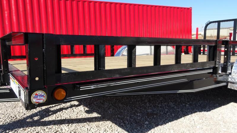 "2020 PJ 83""x16' Tandem Axle Utility  w/ATV Ramps (UL)"
