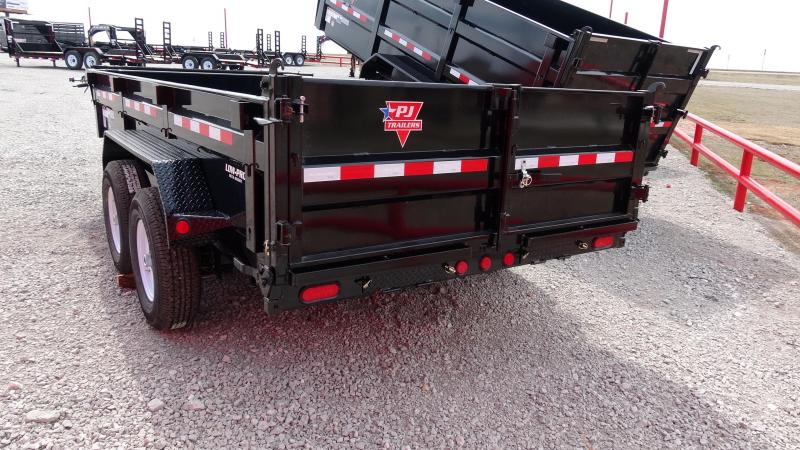 "2020 PJ Trailers DM 83""x14' Low Pro Dump"