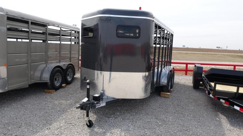 2019 Delta Manufacturing 2019 Delta 500 16 Tandem Axle BP Horse Trailer in Ashburn, VA
