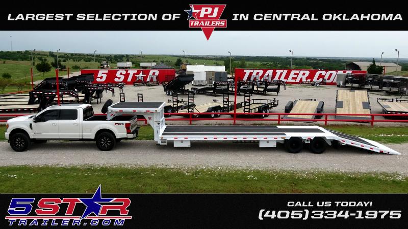 "2020 PJ Trailers PJ 20x102"" Tandem 5200lb Axle Buggy Hauler With Driver Over Fenders (B5) Car / Racing Trailer"