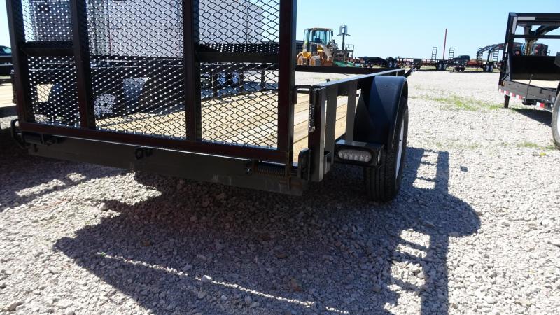 2019 5STAR 12x6.4 Gated Single Axle Utility Trailer Utility Trailer