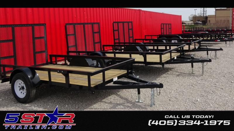 2019 5STAR Utility/ATV Trailers 10'-16' Starting @$1350