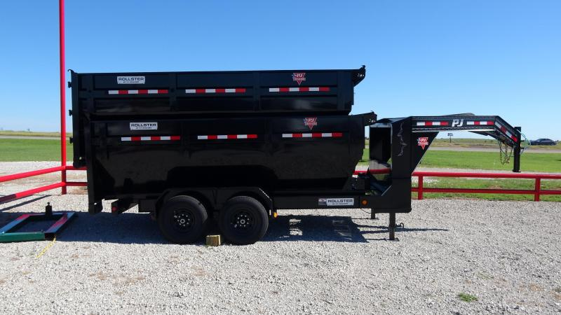 2020 PJ Trailers 14' Rollster Roll Off Dump Trailer (1 Dump