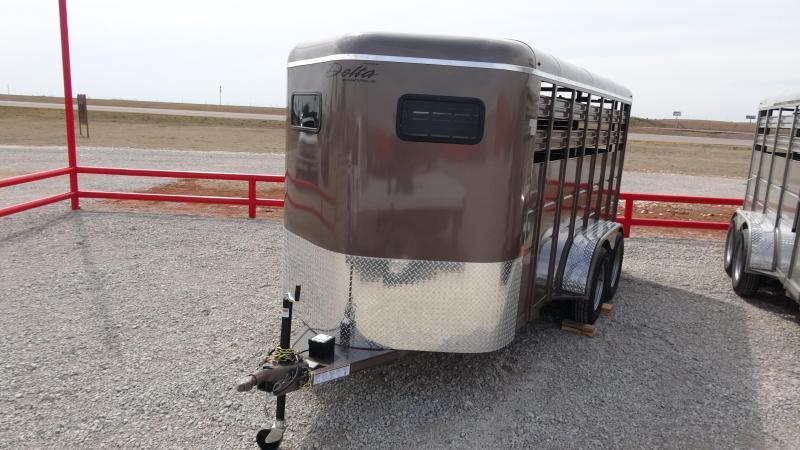 2019 Delta Manufacturing 2019 Delta 500 16 Tandem Axle BP Livestock/Horse Livestock Trailer in Ashburn, VA