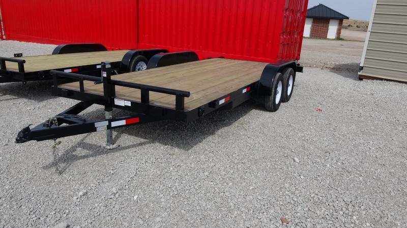 2019 5STAR Flatbed Tandem Axle 18-ft Car Hauler/Equipment Trailer in Ashburn, VA