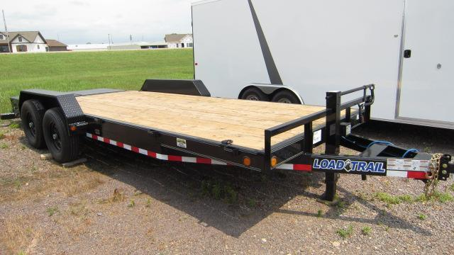 "2018 Load Trail 83"" X 20' Tandem Axle Flatbed Car Trailer"