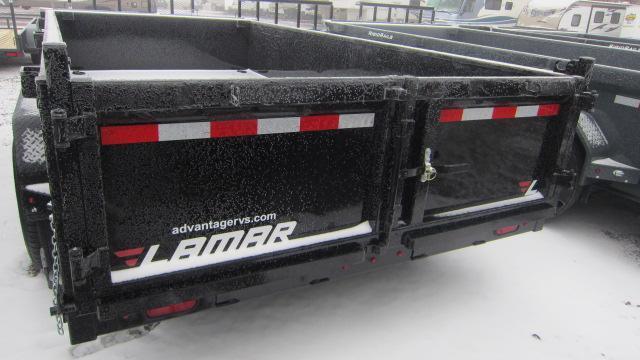 2019 Lamar Trailers 83X14 Low Pro 14K Dump Trailer