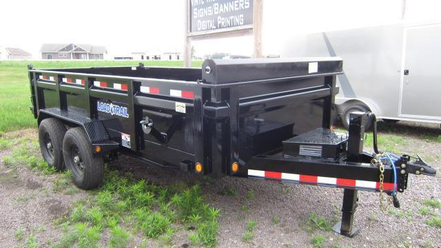 """2018 Load Trail 83"""" X 14' Tandem Axle Dump Trailer"""