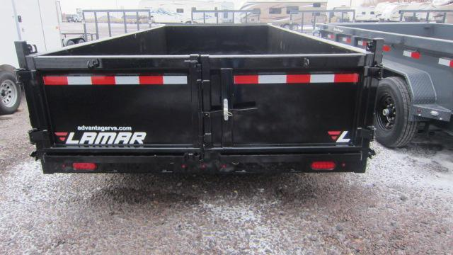 2019 Lamar Trailers 83x16 Low Pro Dump 14K Trailer
