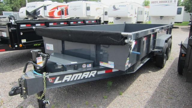 2019 Lamar Trailers 83X16 Low Pro Dump 14K Trailer