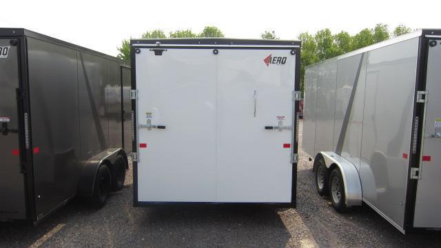 2019 AERO 7x12 V Enclosed Cargo Trailer