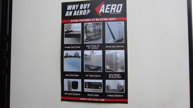2019 AERO 7X14 V Enclosed Cargo Trailer