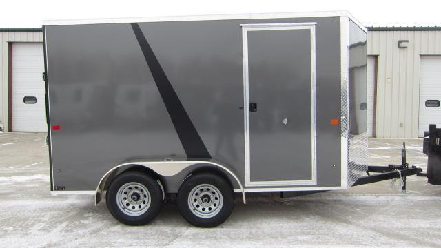 2019 AERO 7x12 Enclosed Cargo Trailer