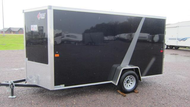 2020 AERO 6X12 V Enclosed Cargo Trailer