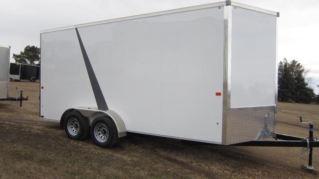 2019 AERO 7X16 V TALL Enclosed Cargo Trailer