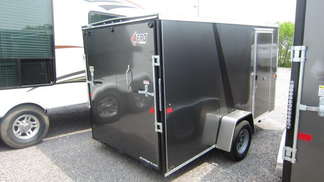 2019 AERO 6x12 V Enclosed Cargo Trailer