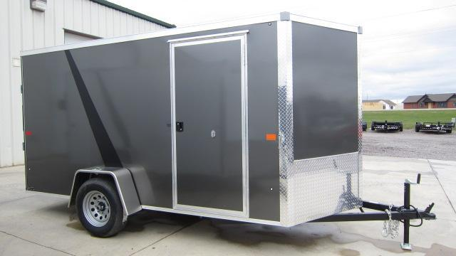2019 AERO 6X12V Enclosed Cargo Trailer