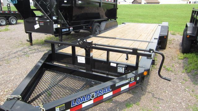 "2018 Load Trail 83"" X 22' Tilt-n-go Tandem Axle Flatbed Trailer"