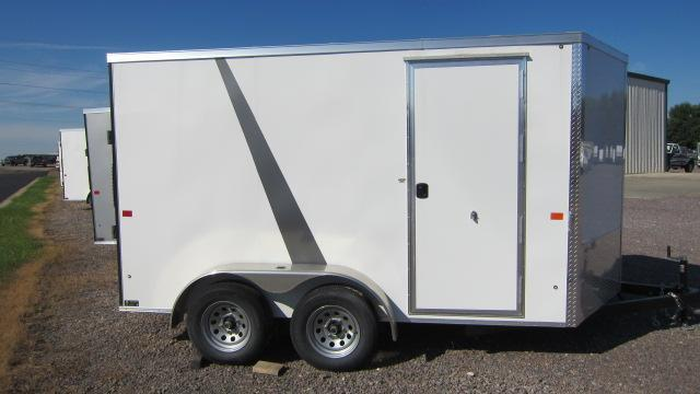2019 AERO 7x12 V Enclosed Cargo Trailer