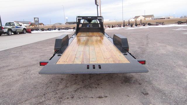 2019 Load Trail 83x24 Tilt-n-Go Gooseneck Tandem Axle Tilt Deck Flatbed Trailer