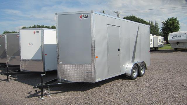 2019 AERO 7X16 V TALL Enclosed Cargo Trailer