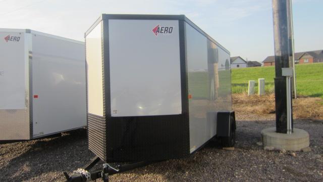 2019 AERO 6X12 Enclosed Cargo Trailer