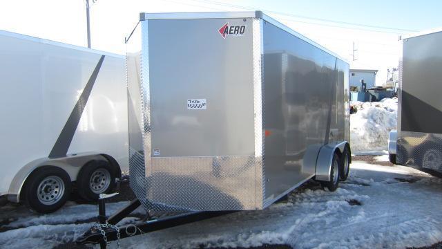 2019 AERO 7x16 Enclosed Cargo Trailer