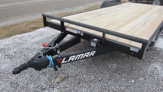 2019 Lamar Trailers 83X20' Classic Carhauler 7K Flatbed Trailer