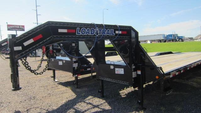 2019 Load Trail 102x40 Tandem Low-Pro Gooseneck Flatbed Trailer