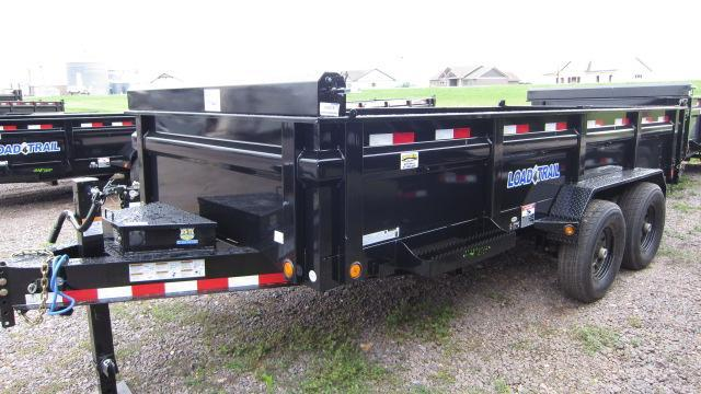"2018 Load Trail 83"" X 16' Tandem Axle Dump Trailer"