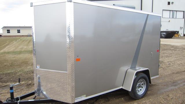 2019 AERO 5x10 V Enclosed Cargo Trailer