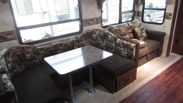 2013 Forest River Sandpiper 32QBBS Fifth Wheel