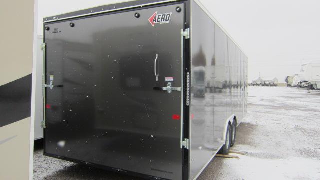 2019 AERO 8.5x24V Car Hauler Enclosed Cargo Trailer