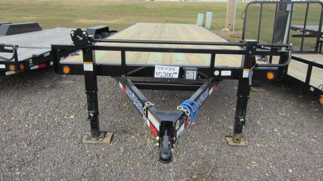 2019 Load Trail 102x24 Deck Over Flatbed Trailer