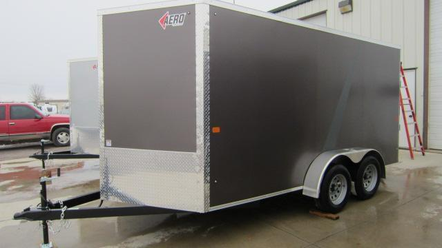 2018 AERO 7X16 V Enclosed Cargo Trailer