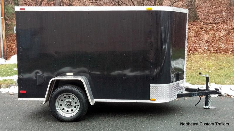 5 X 8 Enclosed Cargo Trailer